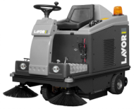 RIDE ON SWEEPERS  SWL R 1000 ST with front light system  swl r 1000 et with front light system